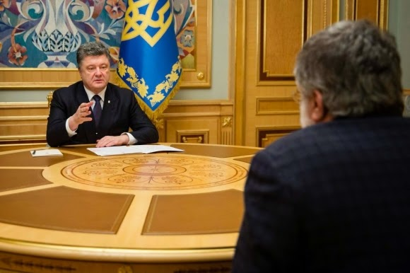 The Governor of Dnipropetrovsk region, oligarch Kolomoisky resigned