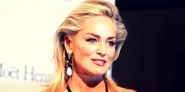 Actress Sharon Stone's
