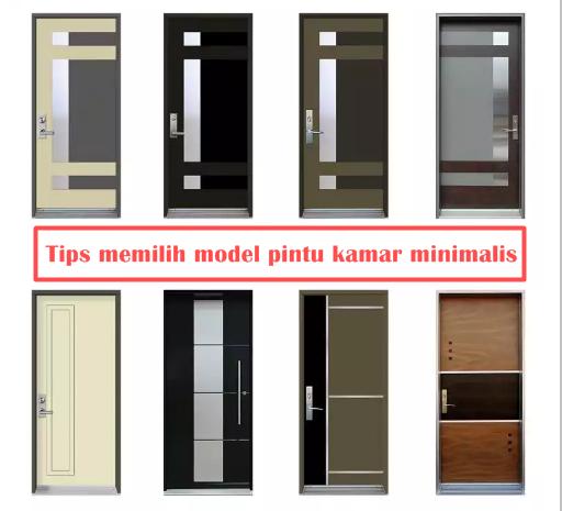Tips memilih model pintu kamar minimalis