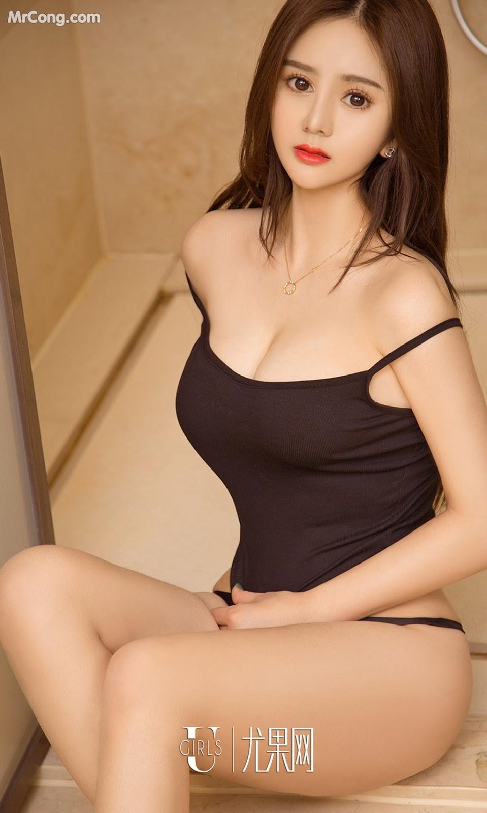 Image UGIRLS-Ai-You-Wu-App-No.1012-Zhang-Duo-Duo-MrCong.com-014 in post UGIRLS – Ai You Wu App No.1012: Người mẫu Zhang Duo Duo (张多多) (40 ảnh)