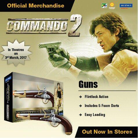 Buy Vidyut Jamwal S Commando 2 Guns Online Bollyquick