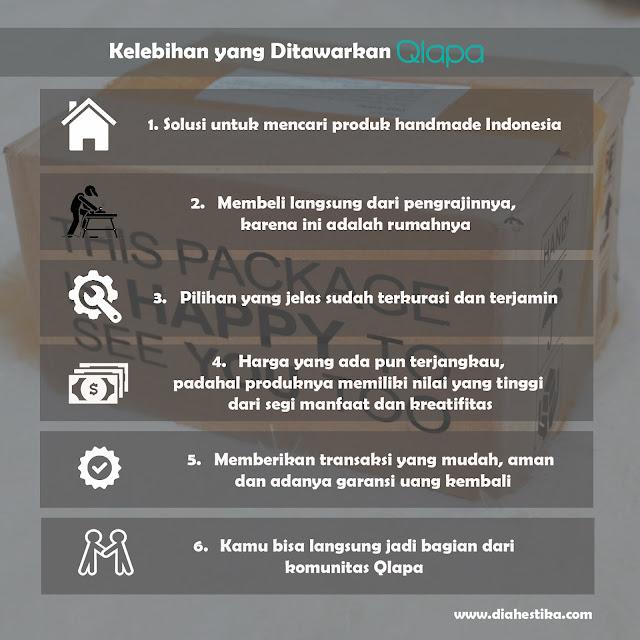 #cintaproduklokal bersama qlapa.com, #cintaproduklokal, qlapa.com, Rumahnya Produk Handmade Indonesia