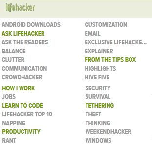 Why You Should Read Lifehacker - College Gloss