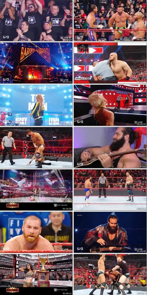 WWE Monday Night Raw 08 April 2019 720p HDRip 1.4GB Download