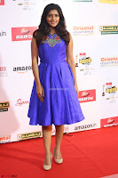 Eesha in Cute Blue Sleevelss Short Frock at Mirchi Music Awards South 2017 ~  Exclusive Celebrities Galleries 035.JPG