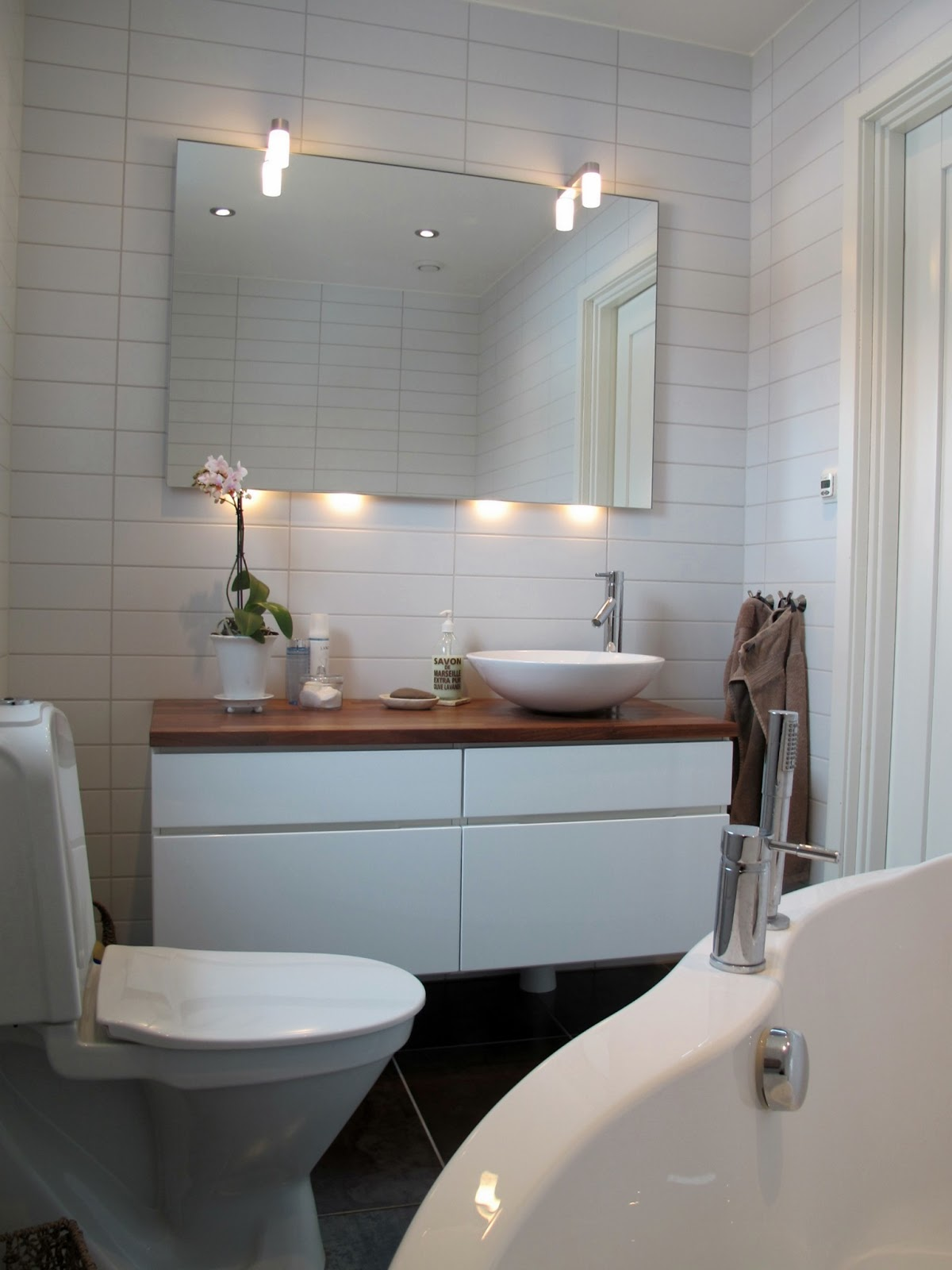 Piazzan: snyggt badrum