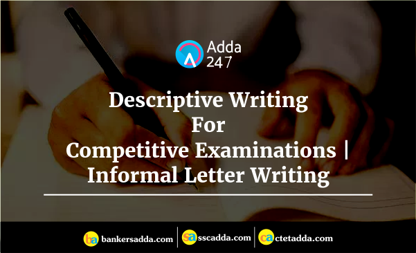 english language descriptive writing