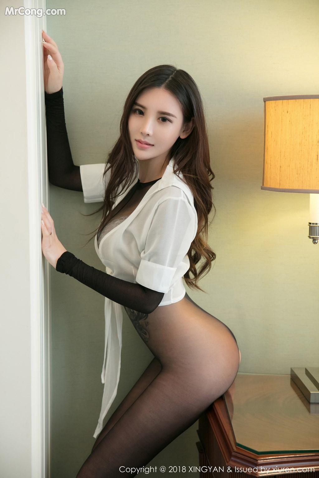Image XingYan-Vol.054-Han-Yu-Jia-MrCong.com-008 in post XingYan Vol.054: Người mẫu Han Yu Jia (韩雨嘉) (40 ảnh)