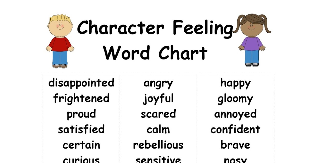 character feelings chart - Hizlirapidlaunch - Feeling Chart