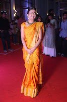 Shalini Pandey in Beautiful Orange Saree Sleeveless Blouse Choli ~  Exclusive Celebrities Galleries 050.JPG