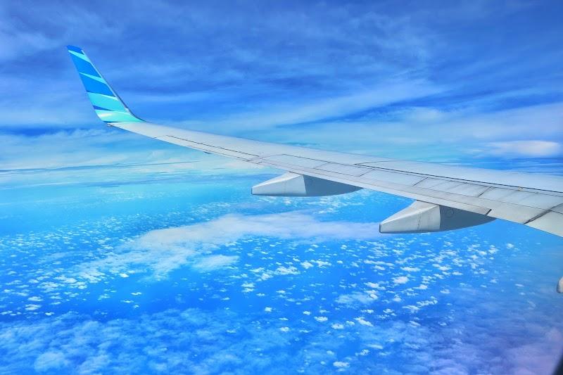 New Experience: Pertama Kali Terbang Bersama Garuda Indonesia