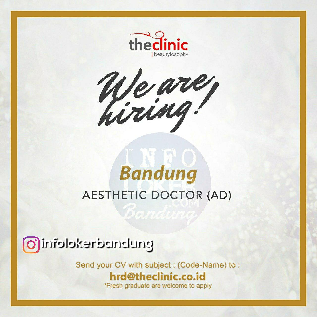 Lowongan Kerja The Clinic Beautyloosphy May 2018