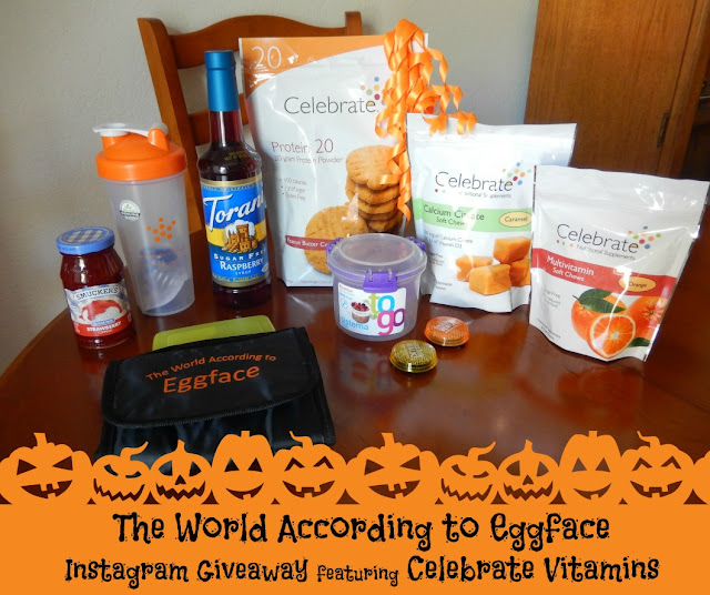 Eggface%2BCelebrate%2BVitamins%2BOctober%2BTreat%2BGiveaway%2BPromo%2BPicture%2BBlog Weight Loss Recipes Eggface and Celebrate Vitamins Halloween Treats Instagram Giveaway