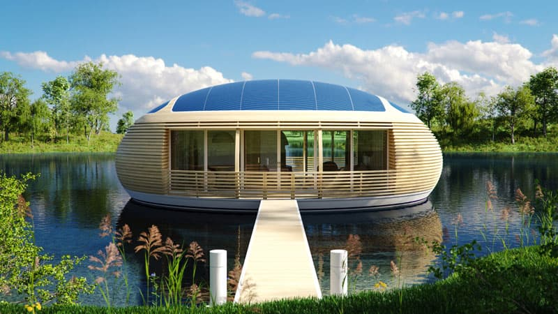 Beautiful Floating House Design