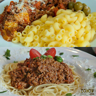 HOW TO PREPARE BOLOGNESE MEAT SAUCE - ZIGIHOW.COM.NG