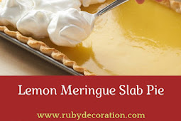 Lemon Meringue Slab Pie