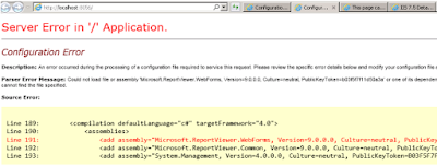 Srinivas Blog : Could not load file or assembly 'Microsoft