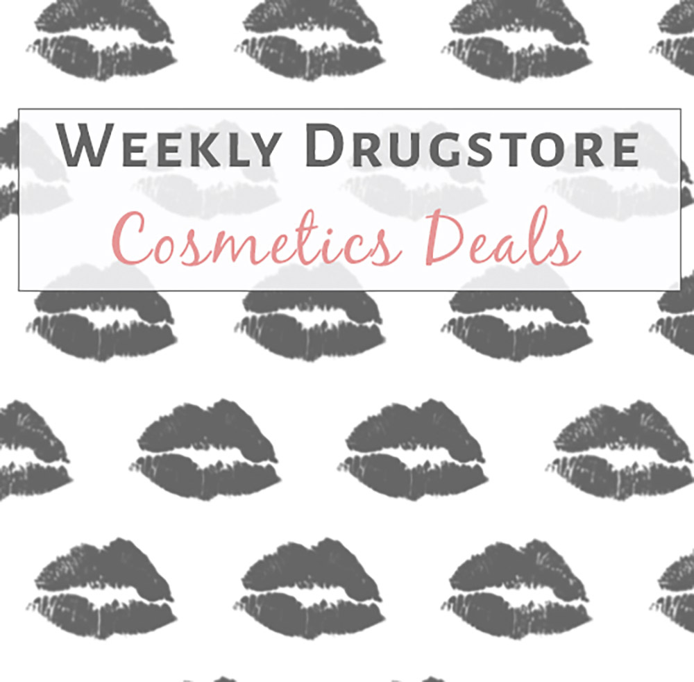 Deal Alert: Weekly Drugstore Cosmetics Deals