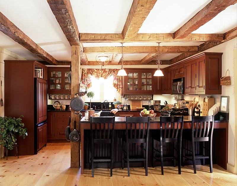 HOME DECOR IDEAS: Primitive Country Kitchens Decor Ideas