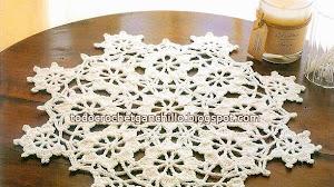 Patrones de carpeta de estrellas al crochet