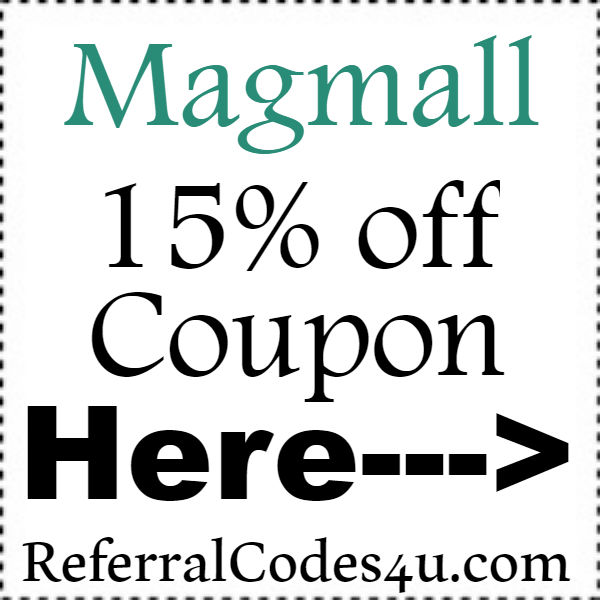 Magmall Coupon Codes 2016-2021, Magmall Promo Codes September, October, November