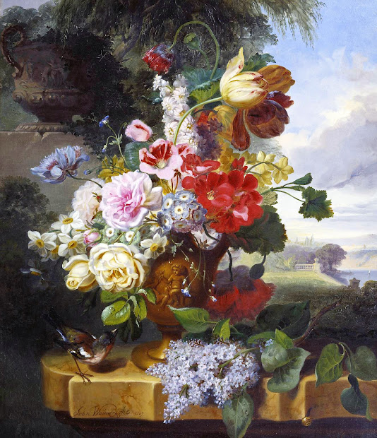 Flower Paintings by Famous Artists