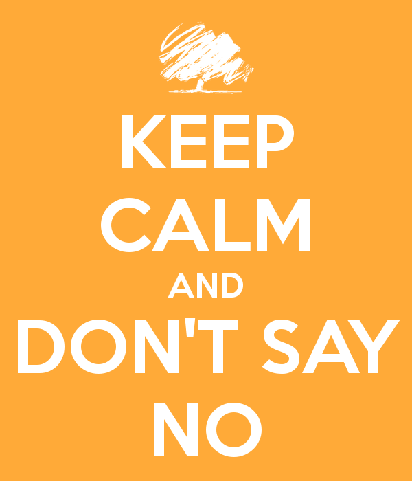 Jangan Bilang Tidak...