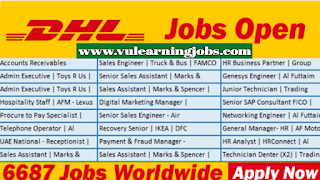 DHL Express - DHL Jobs - Middle East - Europe - Jobs In 2019