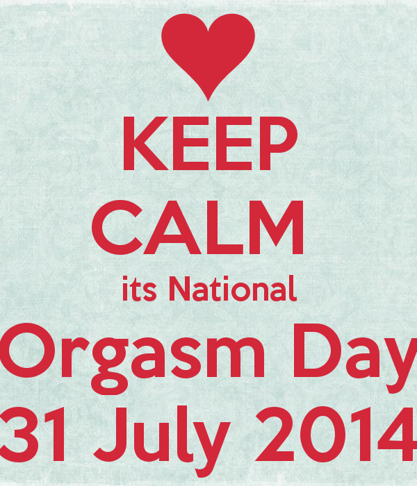 International orgasm day remarkable, very
