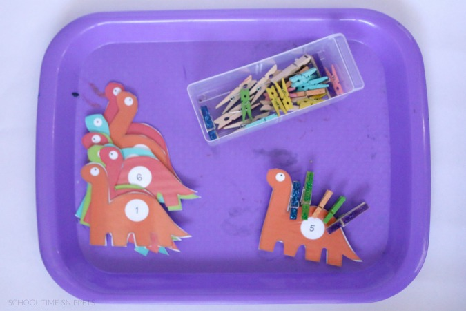 preschool dinosaur theme