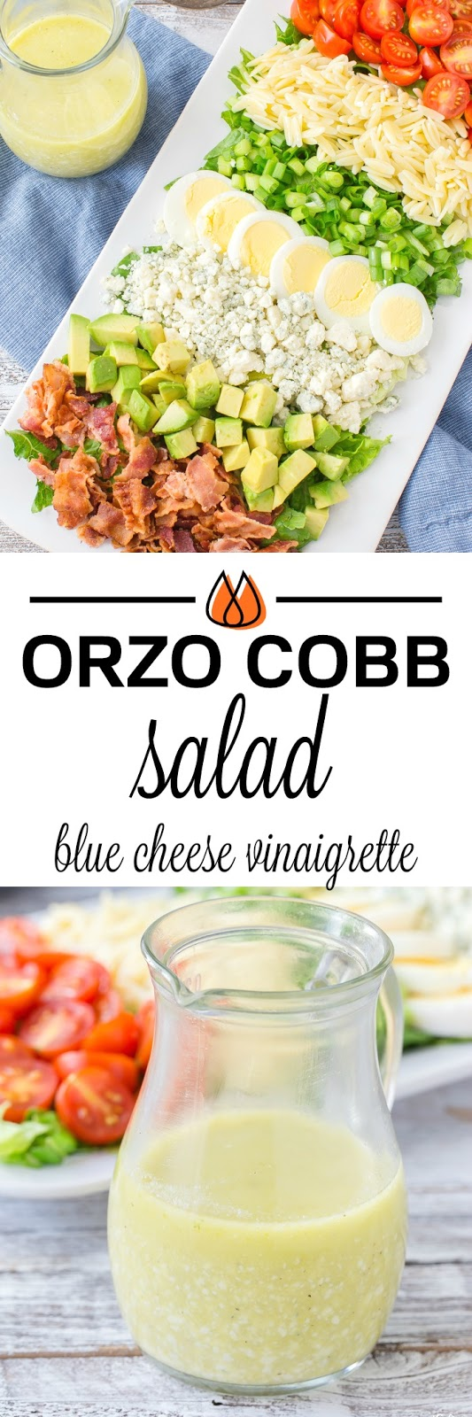 Easy and tasty Orzo Cobb Salad