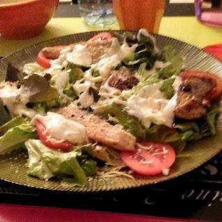 Recette Mamangue Salade caesar rapide