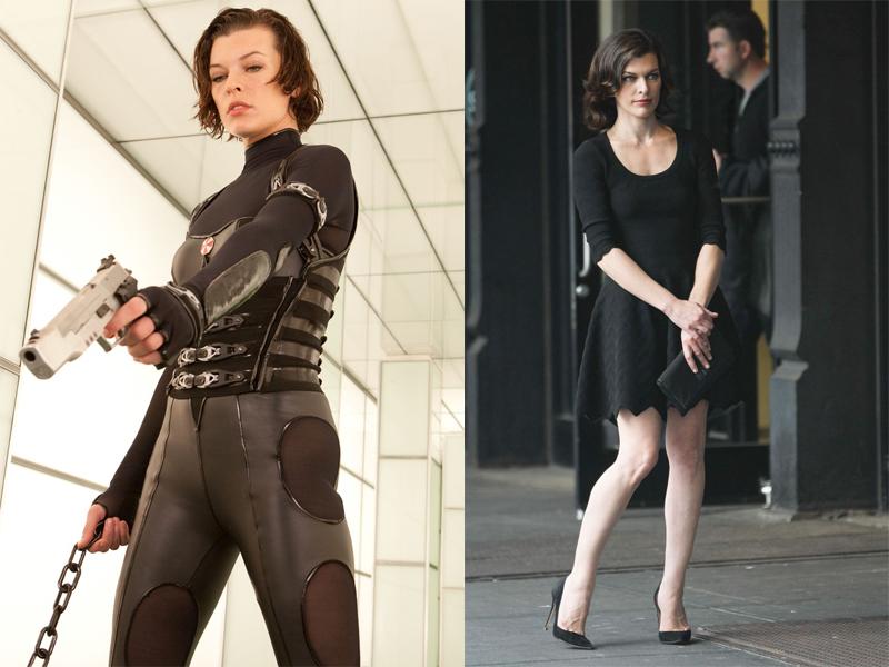 Superhero seksi Alice dalam film Resident Evil