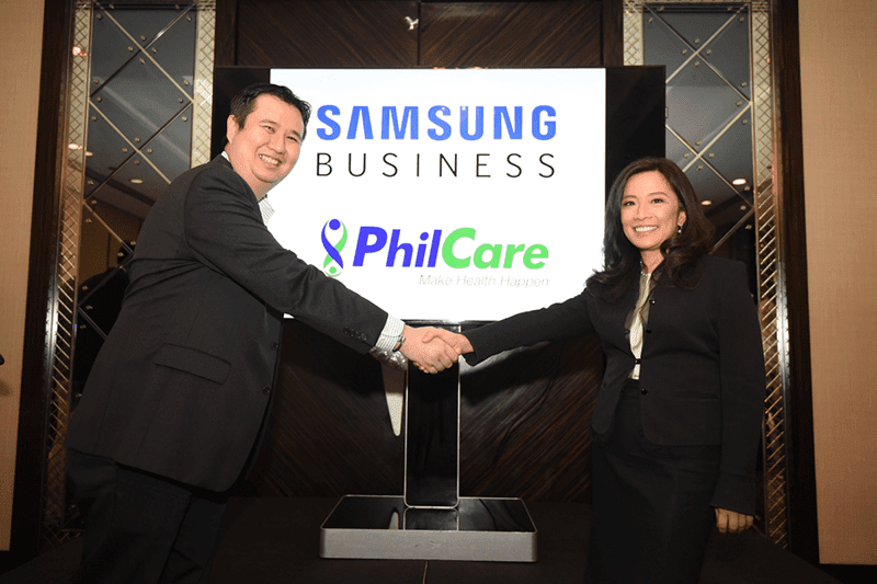 PhilCare And Samsung Pioneers NFC Cards For HMO! Avialment Is Now Faster, More Efficient And Close To Paperless!