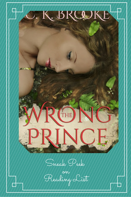 The Wrong Prince by CK Brooke  a Sneak Peek on Reading List