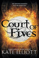 Court of Fives by Kate Elliott book cover and review