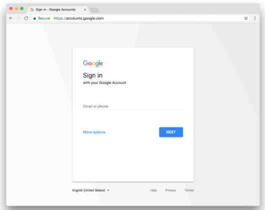 G Suite Update Alerts: Update: Refreshing the Google Accounts login page