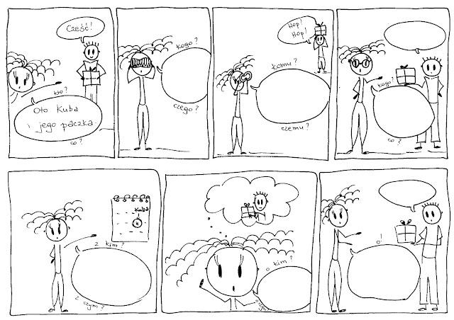 komiksowe przypadki
