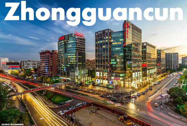Image Attribute: Beijing's Zhongguancun High-Tech District, known as China's Silicon Valley / Source: Bloomberg