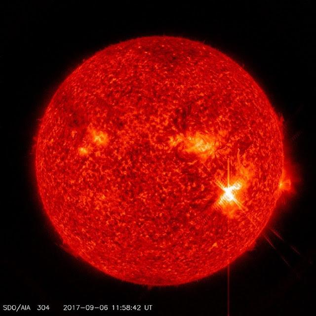 Algo le está pasando al sol, se quema el campo magnético del planeta
