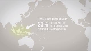 Jumlah Penonton Youtube Dari Indonesia, Jumlah Penonton Youtube dari Indonesia Terbesar Di Asia Pasifik Sepanjang Tahun 2015