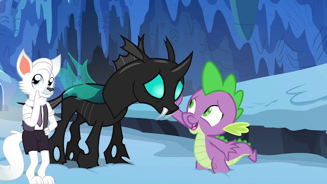Mlp Changeling Tf: MLP Stuff!: Analysis: Spike: The Element