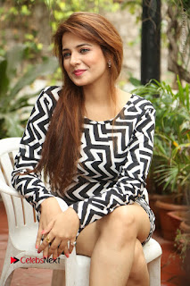 Actress Saloni Latest Pos in Short Dress  0245.JPG
