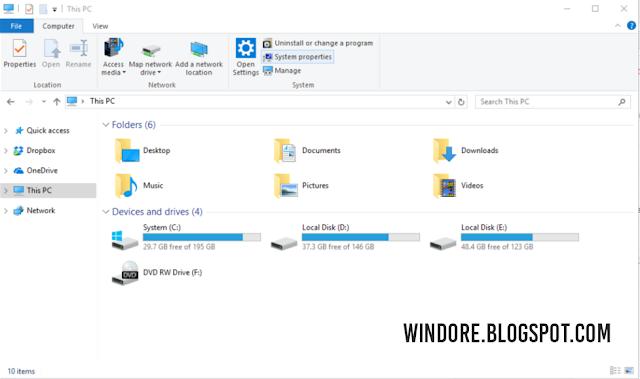 Cara Mudah Mempercepat Tampilan Windows 10