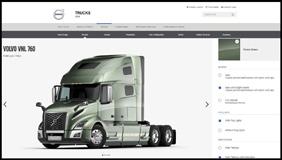 New Volvo Trucks VNL Online Configurator