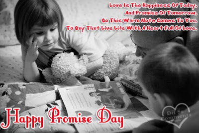happy promise day greeting cards