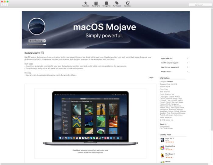 Bootable macOS Mojave - Indirabali