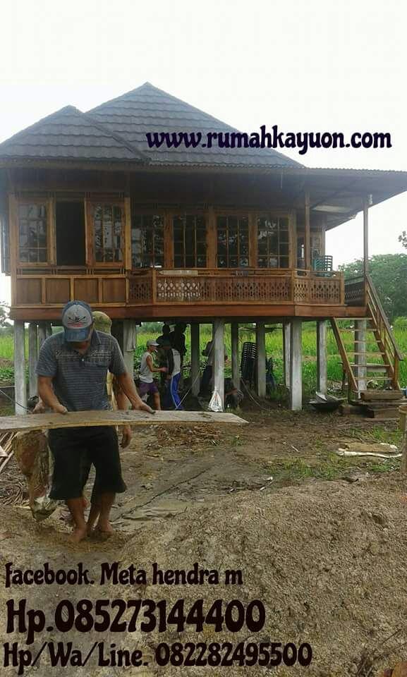 Knock down Loại nhà gỗ 48 m2 Nhà gỗ 6x8