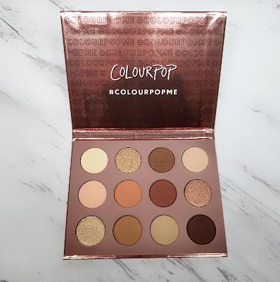 Review: ColourPop Double Entendre Palette