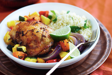 Moroccan-spiced chicken recipe | Arabic Food Recipes